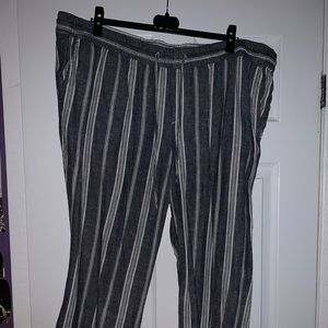 Old Navy Striped Pants